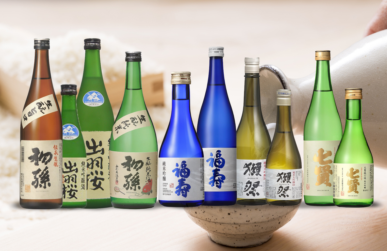 Kanpai | Japan in a glass | Sake | likeur | Spirits